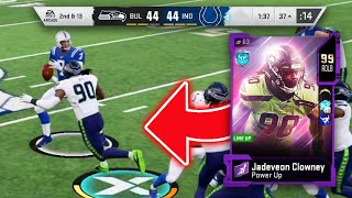 OVERTIME WITH 99 OVERALL JADEVEON CLOWNEY! HE'S A BEAST! - Madden 20 Ultimate Team