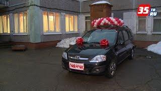 «Потребность делать добрые дела»: автомобиль подарили череповецкому центру помощи детям