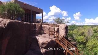 Pecos River Cliff House near Santa Fe