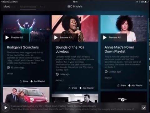 BBC Music – hands on with the app