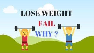 Weight Loss - Why do these weight loss methods fail?