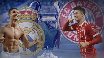 Bayern München vs Real Madrid Statistik Aufstellung Highlights 24.April 2018