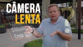 Como fazer vídeo em Camera Lenta - Slow Motion