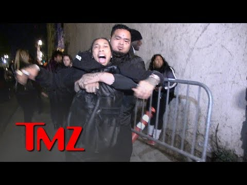 Tyga Grabs for Gun After Being Dragged Out of Floyd Mayweather's Birthday Party   TMZ