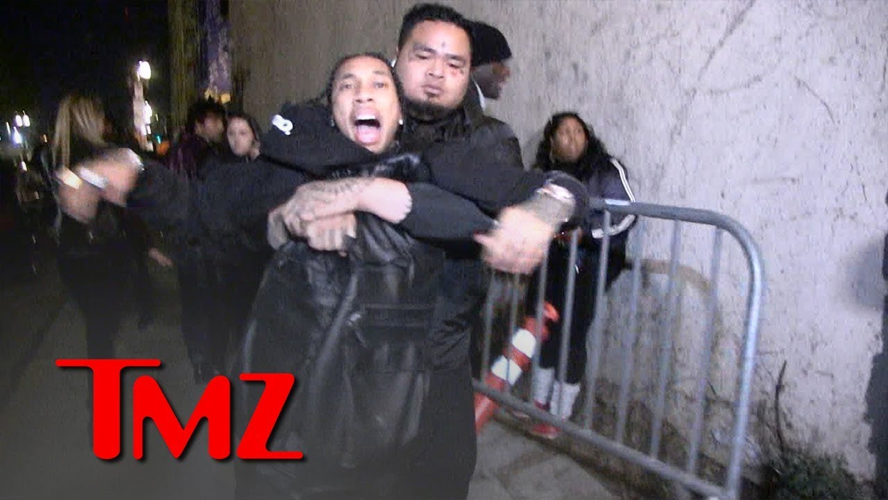 Download Tyga Grabs for Gun After Being Dragged Out of Floyd Mayweather's Birthday Party | TMZ