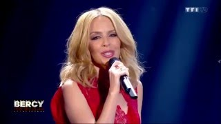 Kylie Performs Only You with Matt Pokora at Bercy