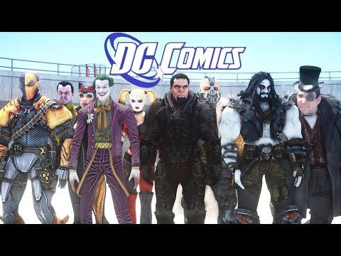 All DC Comics Villains in Grand Theft Auto