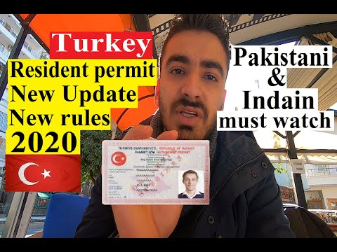 Turkey Temporary Resident Permit New update Laws/Rules 2020