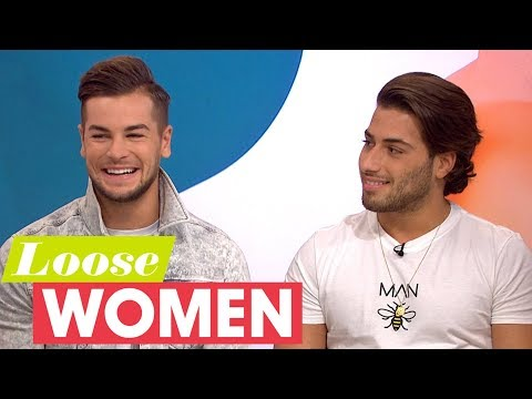 Love Island's Chris and Kem Let Their Girlfriends Look Through Their Phones! | Loose Women