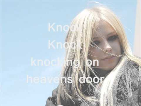 Avril Lavigne - (Lyrics) Knocking on heavens door
