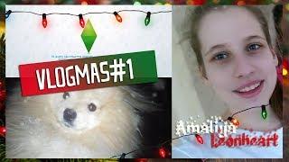 VlogMas#1: Установила СИМС 4 ЖИВОТНЫЕ!\ Подготовка сценки и мои одноклассники