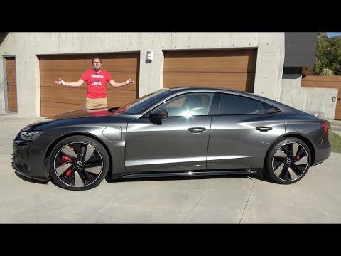 AudI RS E-Tron GT - это ультра-быстрый электроседан за $140 000+
