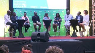 Young African leaders on a world without borders (#WEDF18) thumbnail