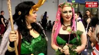 Poison Ivy & Avengers Lady Loki Cosplay Interview