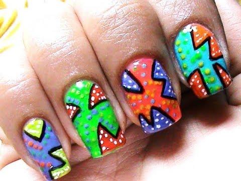 very easy nail design nail art easy nail design for