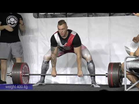 Prague Deadlift Challenge - IPF World Record - Wierzbicki Krzysztof (Poland) June 22nd 2019