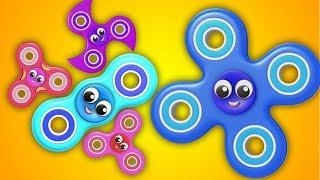 Fidget Spinner   Dedo Família Canção   Finger Family Rhymes   Farmees Português   Canções dos miúdos