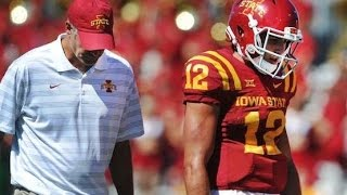 Iowa State vs. No. 20 Kansas State college football field level highlights