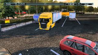 Trucks and Trailers - PC gameplay HD - driving Scania