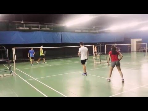 Badminton Match with Piolo Pascual & Dominic Roque