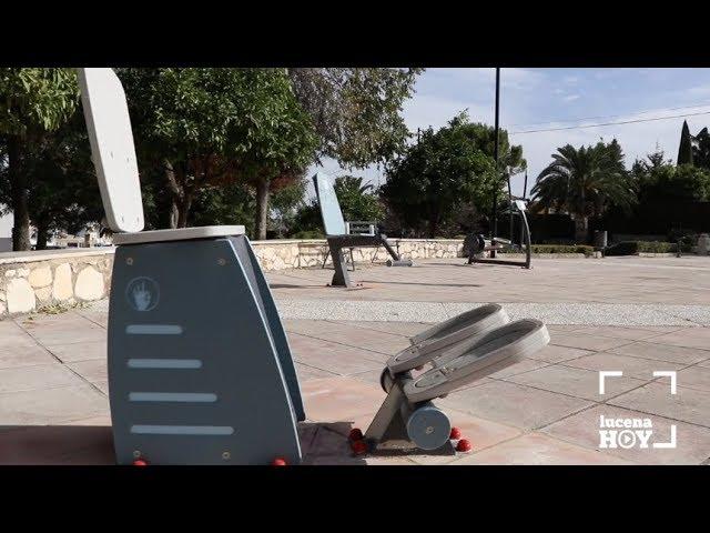 VÍDEO: AsÍ son los dos nuevos circuitos cardiosaludables instalados por el ayuntamiento