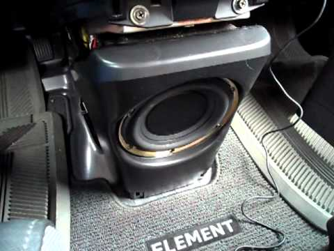 2003 Honda Element Stock Stereo System Look/Review - YouTube