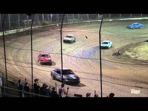 Moler Raceway Park   7.24.15   The DRC Crazy Compacts   Feature