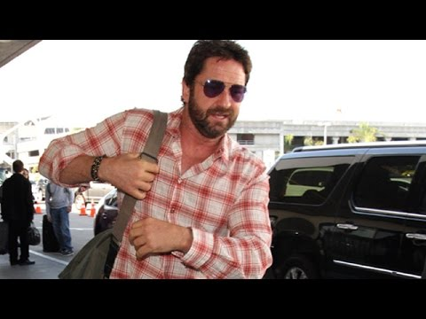 Gerard Butler Is Asked About Motorcycles And Holiday Breakups
