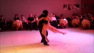 """Juan Carlos Martinez y Nora Witanowsky """"Adiós Buenos Aires"""" - Torino 16 Novembre 2012"""