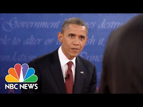 'Can You Say That a Little Louder, Candy'?: 2012 Presidential Debate | NBC New