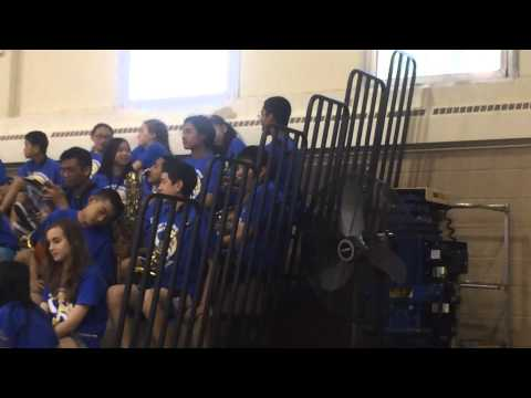 EAST HANOVER MIDDLE SCHOOL BAND 06-06-2014