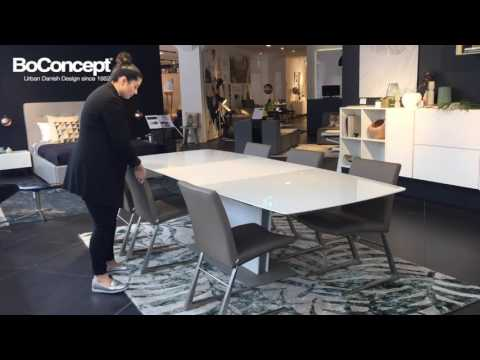 Designer Dining Table | Milano Extendable Dining Table - Interior Styling