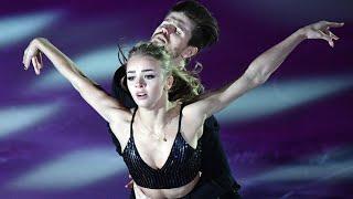 Российские фигуристы Александра Степанова и Иван Букин Ритм танец на чемпионате мира 2017 года
