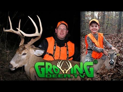 Father Son Deer Hunting: Filling Buck Tags! (#372) @GrowingDeer.tv