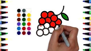 How To Draw Fruits Coloring Pages and Drawing for Kids 2018