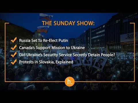 The Sunday Show: Elections in Russia, SBU's Secret Compound, Protests in Slovakia