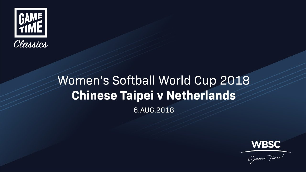 Chinese Taipei v Netherlands - Women's Softball World Cup 2018