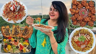 I only ate MAGGI for 24 HOURS Challenge   Food Challenge