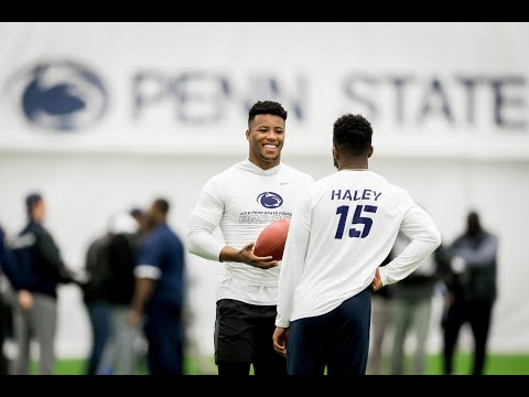Grant Haley discusses Giants minicamp, relationship with Saquon Barkley