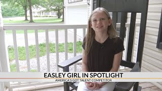 Easley 12-year-old singer on America's Got Talent