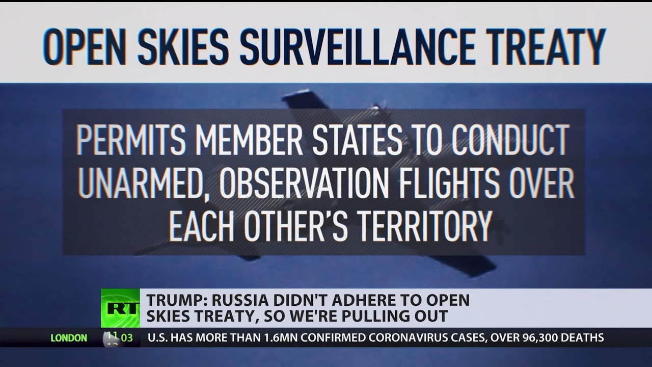 Trump Administration Confirms U.S. Is Leaving Open Skies ...