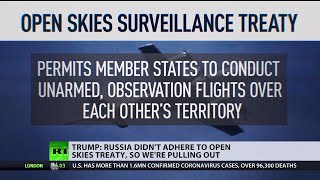 Russia To Blame  Again | Us To Withdraw From Open Skies Treaty