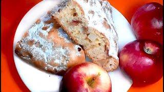 ШАРЛОТКА с яблоками. ПЫШНАЯ шарлотка с яблоками. ПРОСТОЙ РЕЦЕПТ