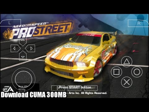 Cara Download Game Need For Speed Pro Street PPSSPP Android