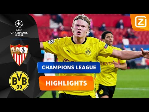 DIT IS WEER GENIETEN HOOR! 🙌🏻⭐️ | Sevilla Vs Dortmund | Champions League 2020/21 | Samenvatting