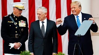 Watch The Pentagon Play Trump Like A Fiddle