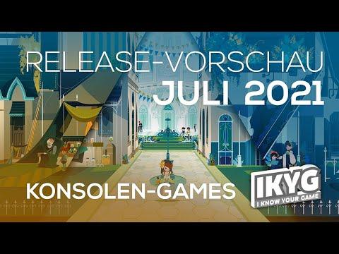 Games-Release-Vorschau - Juli 2021 - Konsole