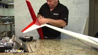 HorizonHobby.com How To - John Redman Builds The E-flite Mystique 2.9m Sailplane