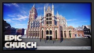 minecraft church epic
