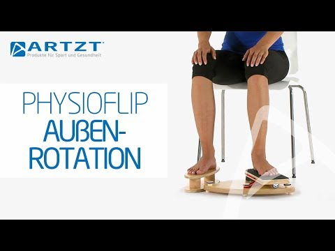 "Video: Pedalo® Fußtrainer ""PhysioFlip"""